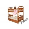 Двухъярусная детская кровать Карина доставка 7дней.